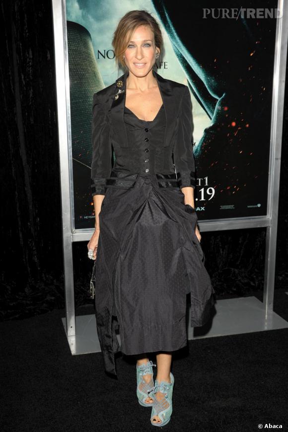 Sarah Jessica Parker se damnerait pour des sandales Nicholas Kirkwood.