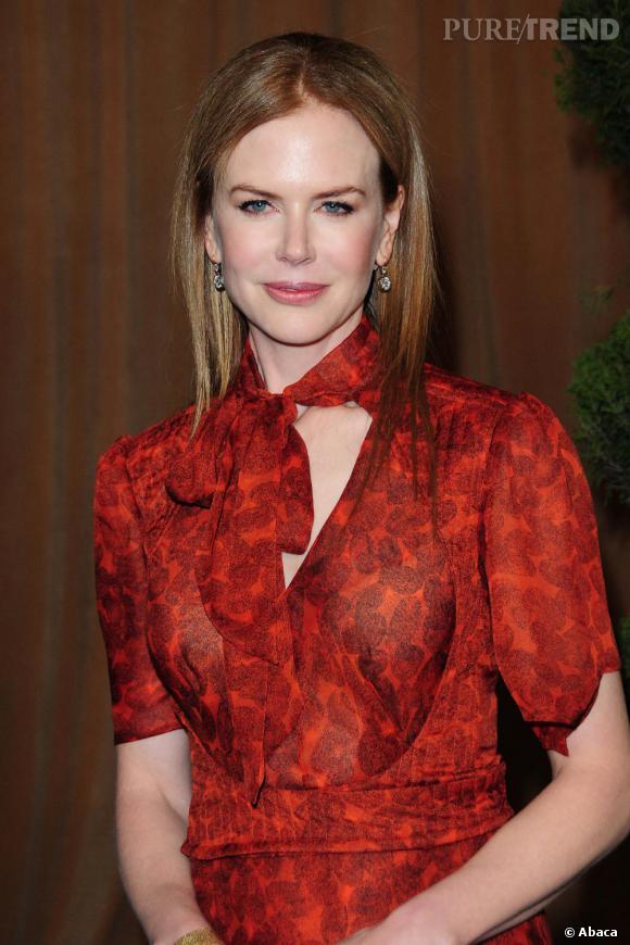 Nicole Kidman au déjeuner en l'honneur des nominés aux Oscars 2011.