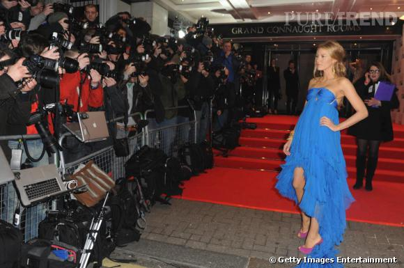 Blake Lively aux ELLE Style Awards 2011, à Londres.