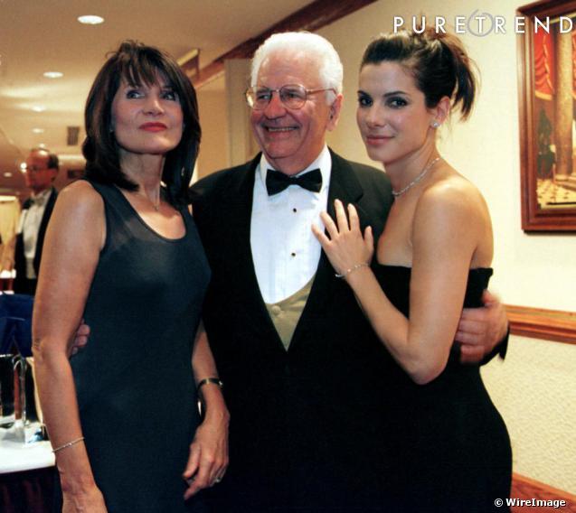 Sandra Bullock Parents Sandra bullock et ses parentsHelga Meyer John W. Bullock