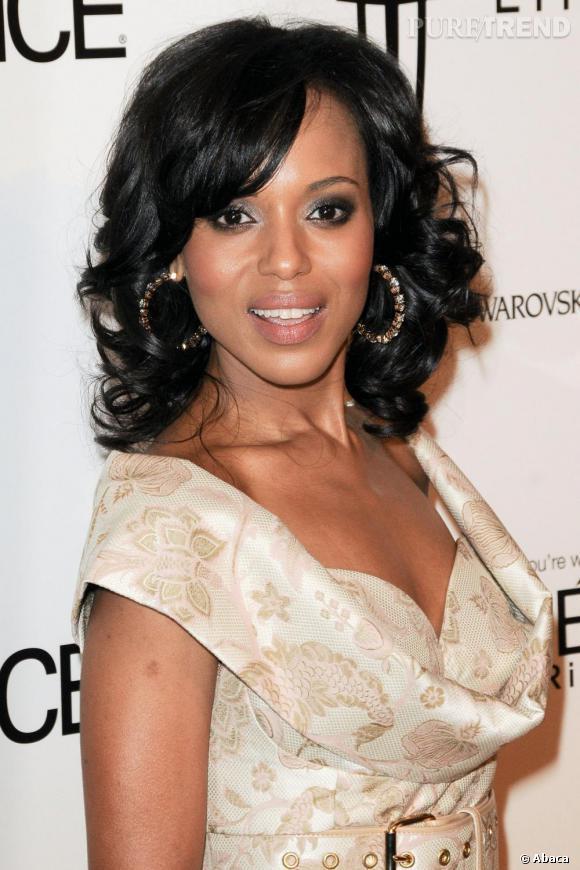 """Kerry Washington à la 5e édition de la soirée """"Essence Black Women in Hollywood""""."""