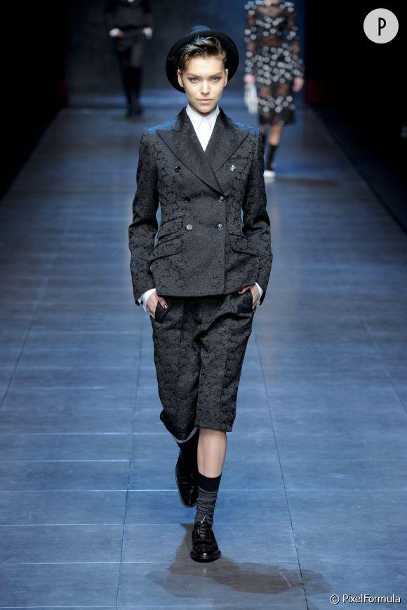 Défilé Dolce & GabbanaMilan Automne-Hiver 2011