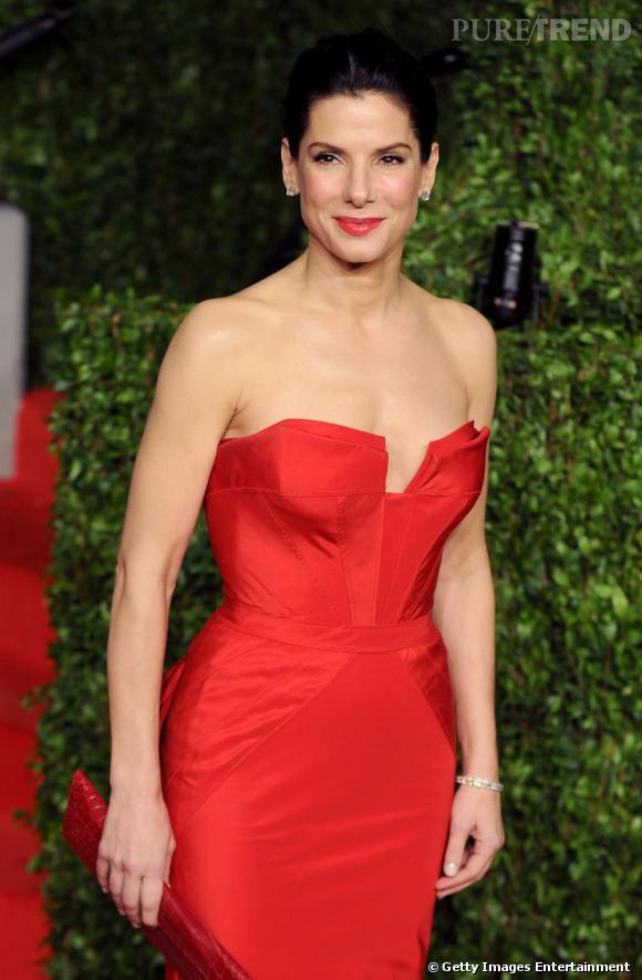 Sandra Bullock à la soirée des Oscars 2011, à Los Angeles.