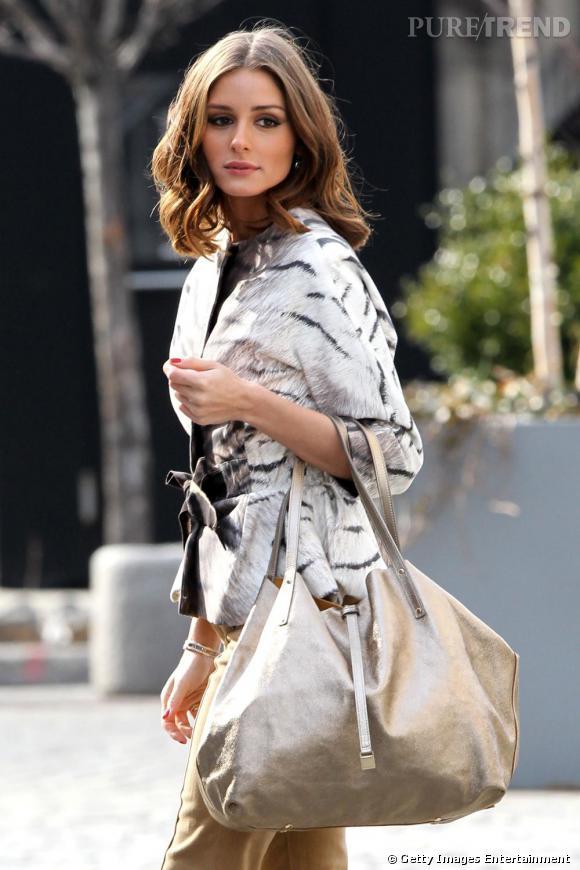 Olivia Palermo pendant un photoshoot dans les rues de New-York.