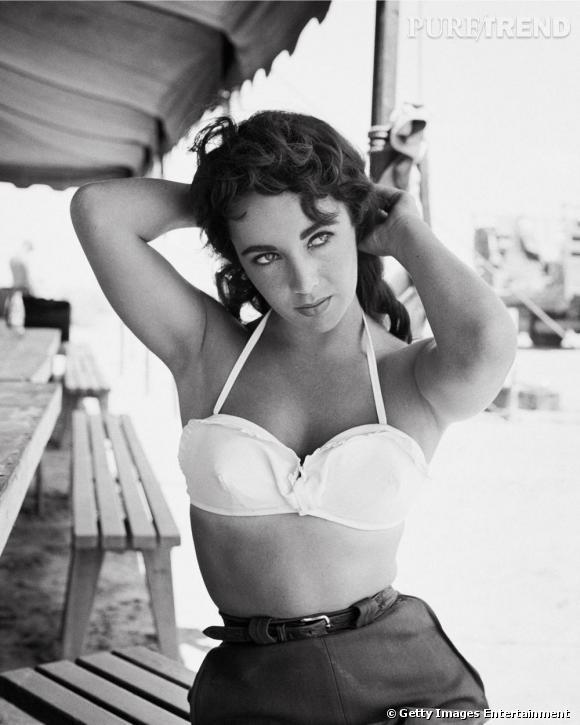 Elizabeth Taylor était friande des looks sexy mêlant le masculin au féminin.