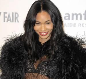 Chanel Iman, égérie DKNY