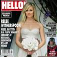 Reese Witherspoon s'est mariée le 26 mars en Monique Lhuillier. Une pièce bustier élégante et délicate.