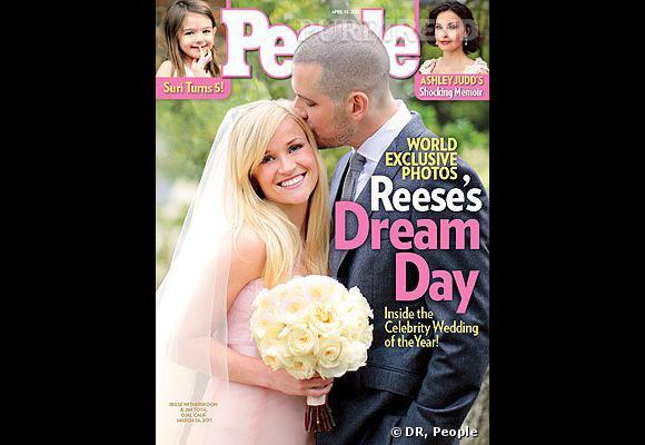 Reese Witherspoon et Jim Toth, le nouveau couple de l'année.