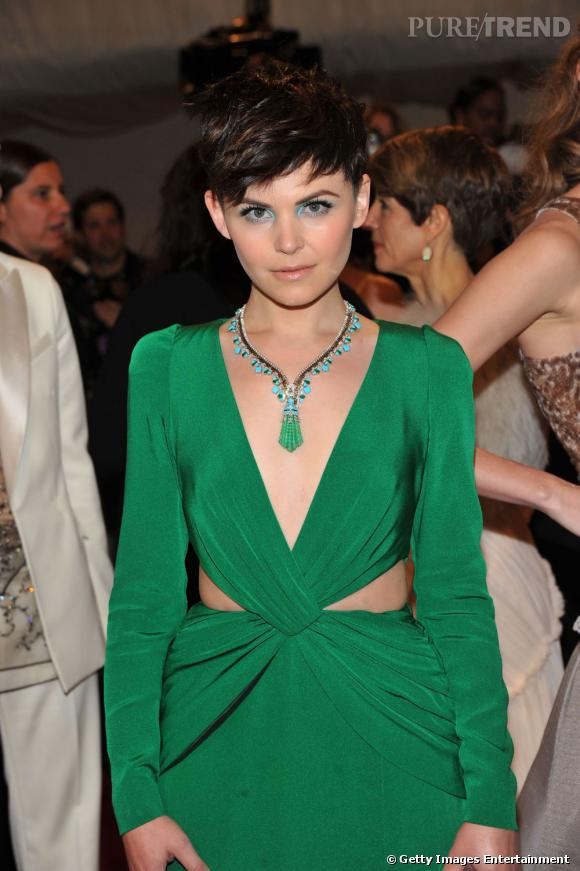 Ginnifer Goodwin lors du Costume Institute Gala au MET à New York.