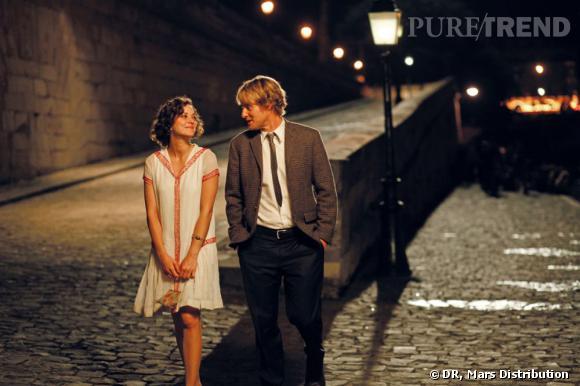 """Le Film d'ouverture : """"Midnight in Paris"""" de Woody Allen, avec Marion Cotillard, Owen Wilson et la Première dame, Carla Bruni."""