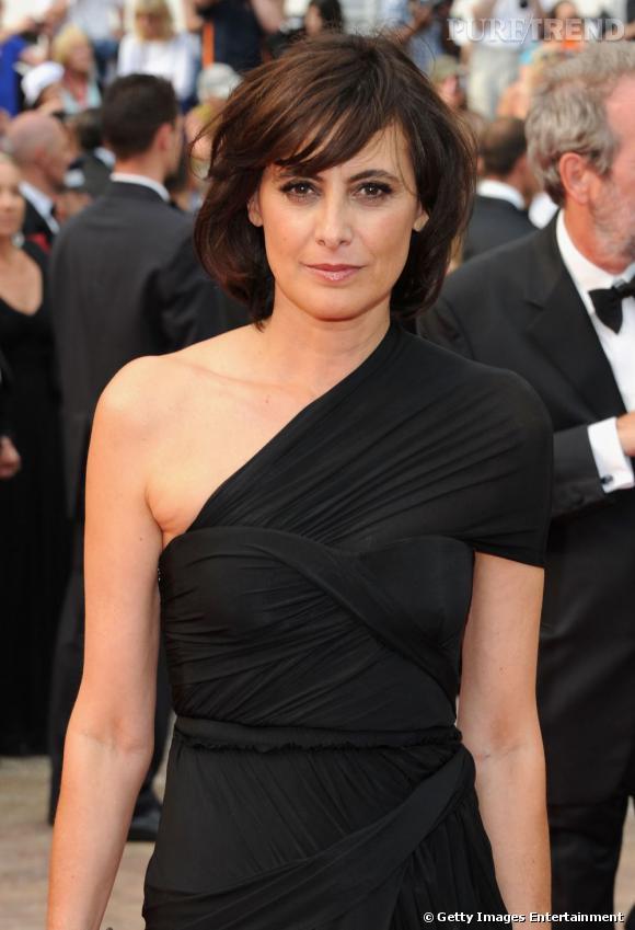 Inès de la Fressange à la cérémonie d'ouverture du 64e Festival de Cannes.