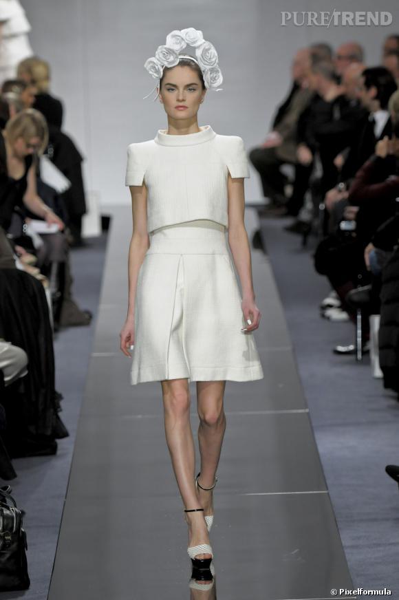 Défilé Chanel Haute Couture printemps-été 2009.