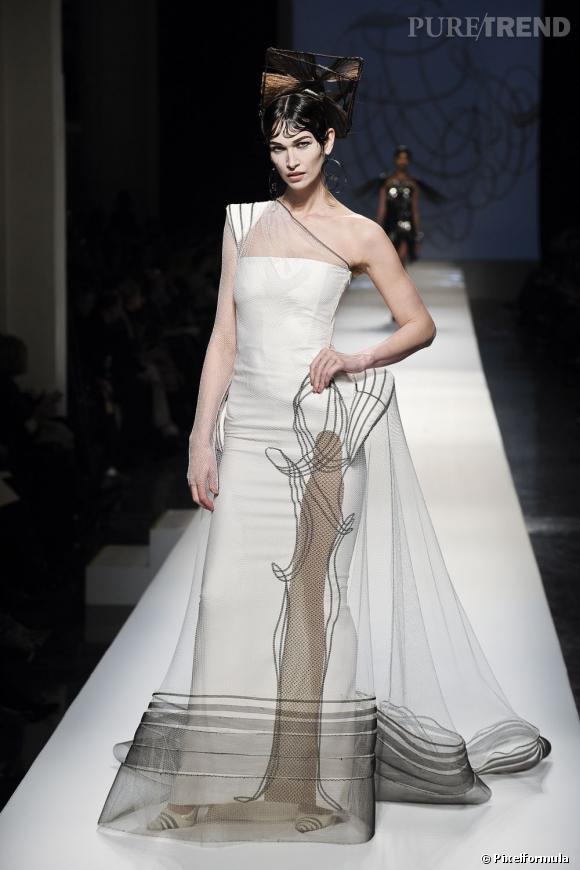 Défilé Jean-Paul Gaultier Haute Couture printemps-été 2009.