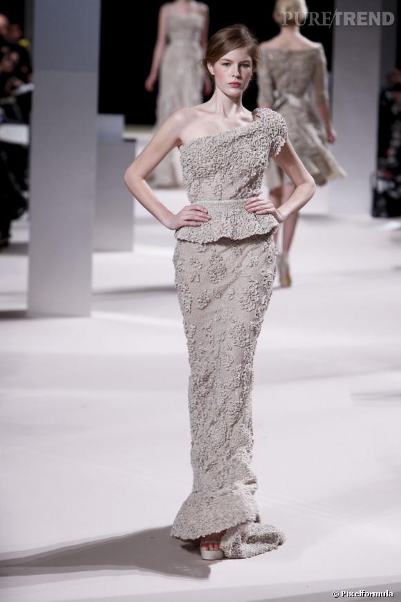 Défilé Elie Saab Haute Couture printemps-été 2011.