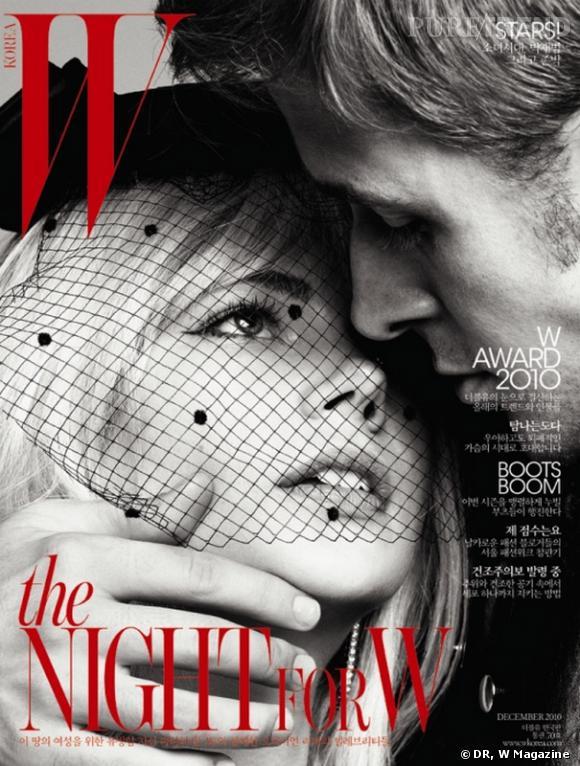 Ryan et Michelle encore une fois pour W Magazine.