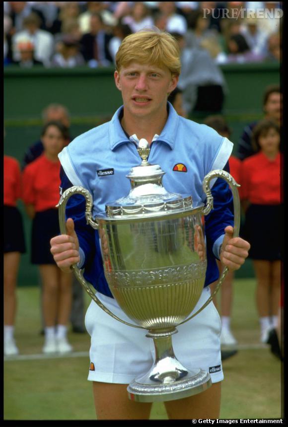 Dans les années 80, Boris Becker a beau être le roi du tennis, il n'a rien d'un prince charmant.
