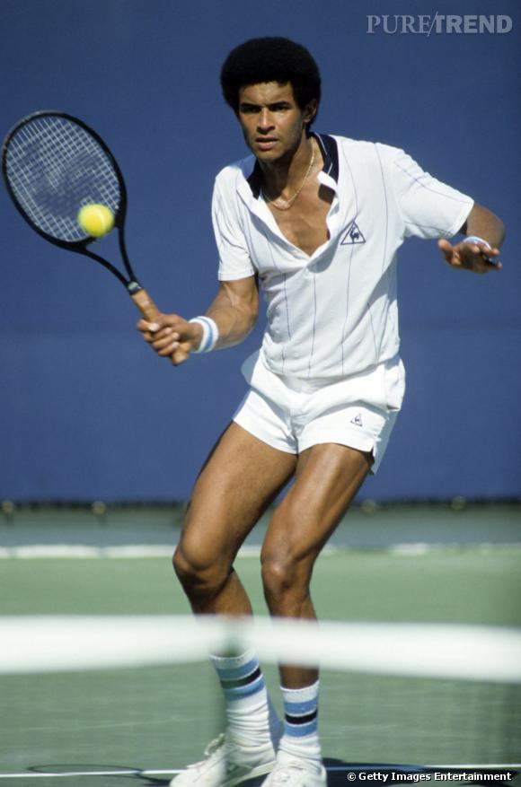 En 1992, un tout jeune Yannick Noah avec une belle afro fait son entrée dans le top 10 mondial.