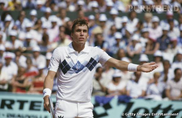 En 1984, Ivan Lendl craque pour le polo à carreaux...