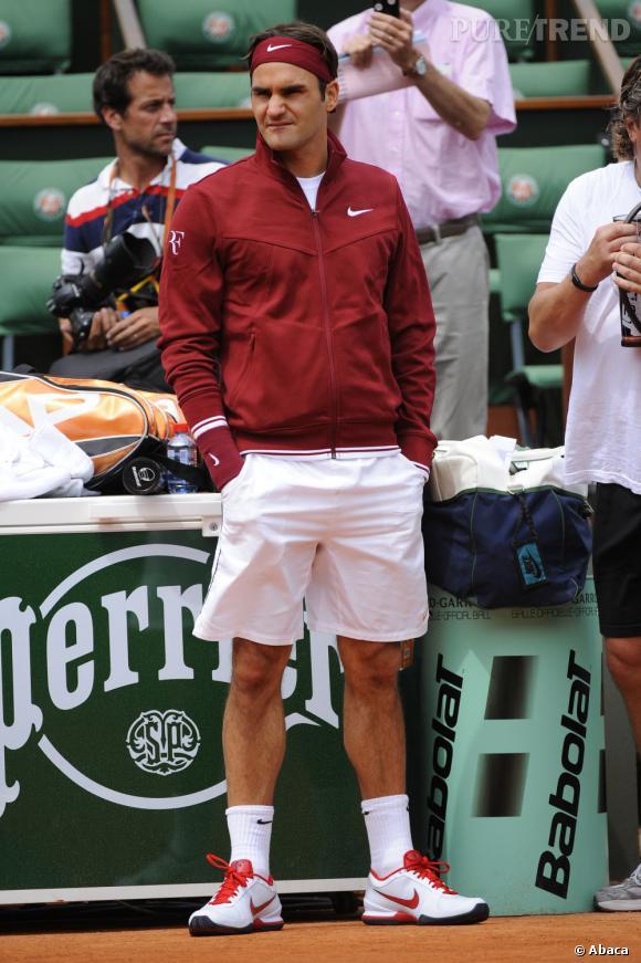 En 2011, Roger Federer est un joueur de tennis emblématique et qui plus est, looké !