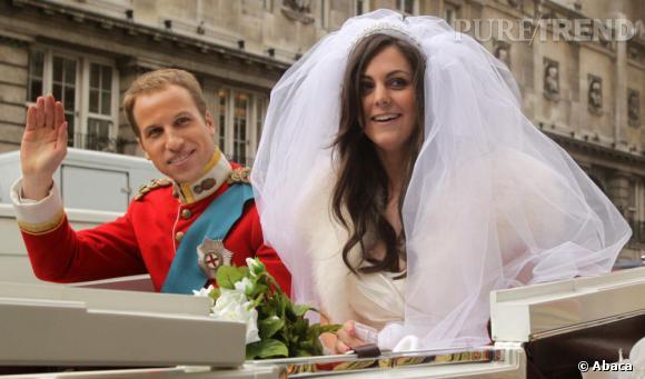 Fanatiques du nouveau couple royal et sosie par la même occasion, ces deux  jeunes gens
