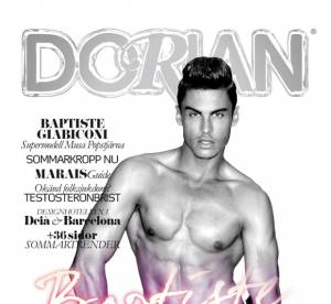 La couv' sexy du week-end : Baptiste Giabiconi pour Dorian