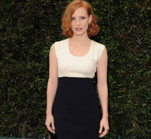 Jessica Chastain, rétro chic