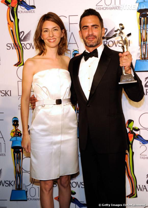 Sofia Coppola et Marc Jacobs.