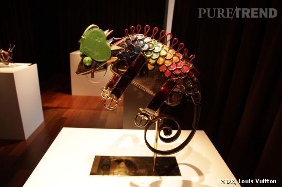 Caméléon Louis Vuitton par Billie Achilleos.