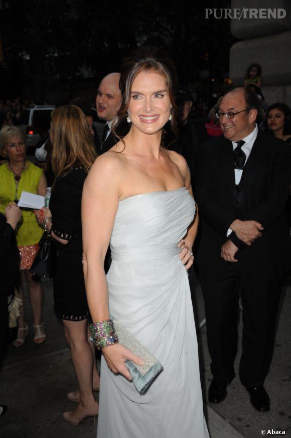 Brooke Shields aux Tony Awards, à New York.
