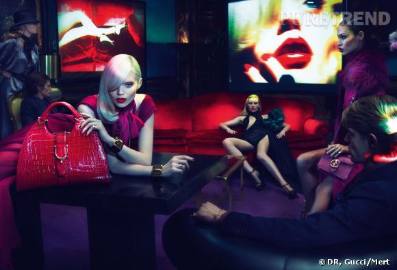 Campagne Gucci automne-hiver 2011/2012.