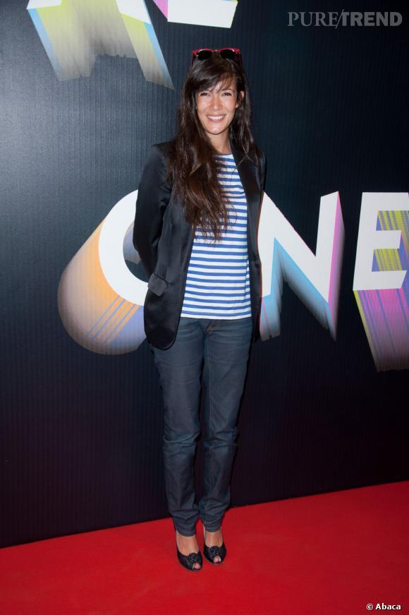 Mélanie Doutey au Festival Paris Cinéma.