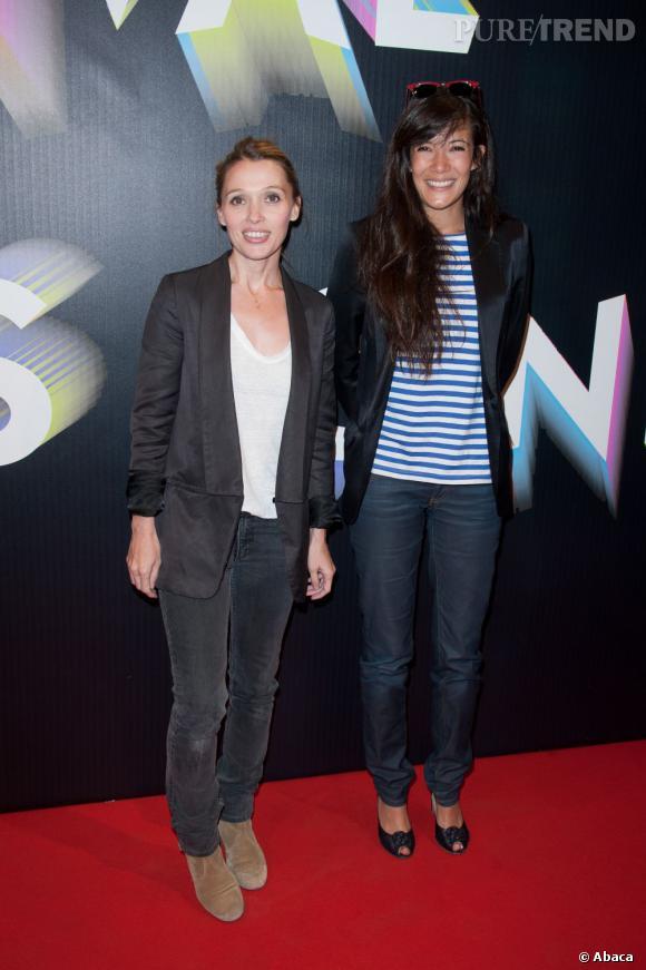 Mélanie et Anne Marivin.