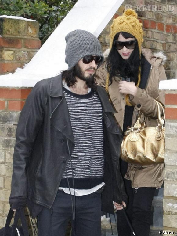 Katy et Russell, un couple parfaitement assorti.