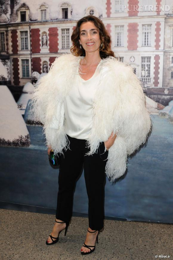 "Mademoiselle Angès au ""White Fairy Tale Love Ball"" organisé par Valentino et Natalia Vodianova."