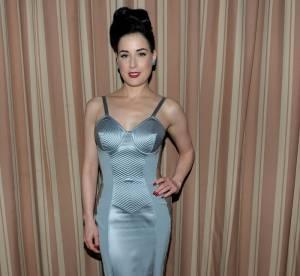 Dita Von Teese vs Daisy Lowe : la robe lingerie Gaultier