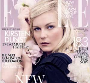 """Kirsten Dunst joue les romantiques en couverture du """"Elle"""" UK"""