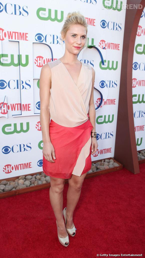 Claire Danes au TCA Summer Press Tour à Beverly Hills.