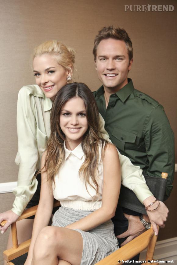 Jaime King, Rachel Bilson et Scott Porter.
