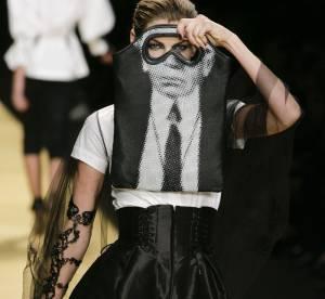 L'icône Karl Lagerfeld