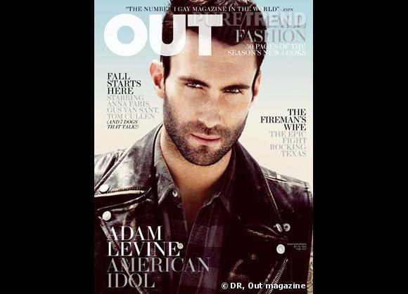 Adam Levine pour Out Magazine, septembre 2011.