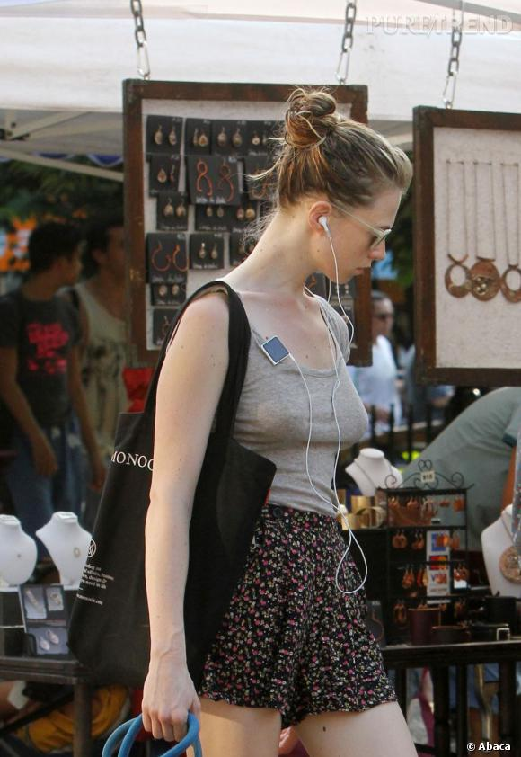 Elettra Rossellini dans les rues de New York.