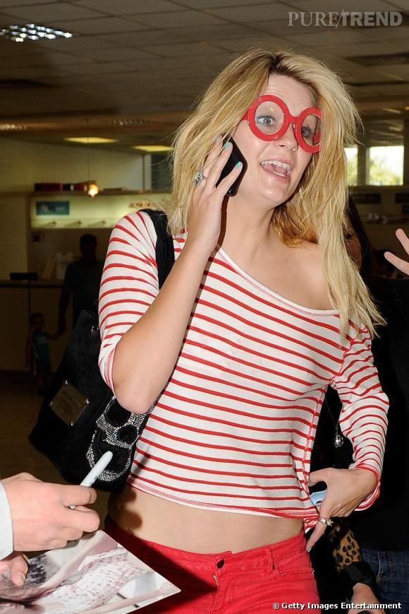 Comment se maquiller quand on porte des lunettes ?       Exemple numéro 4     On mise sur sa monture essentiellement. What else ?