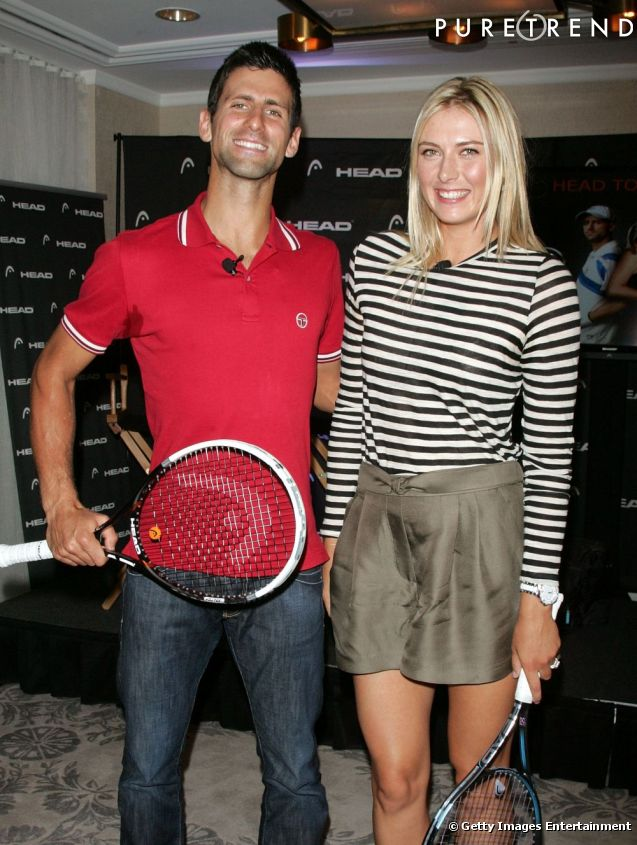 djokovic and sharapova relationship goals