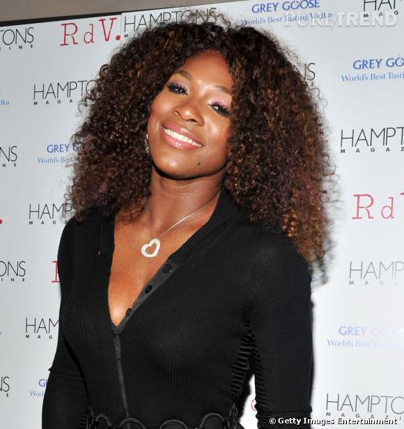 Serena Williams au lancement du nouveau numéro de Hamptons Magazine à New York.