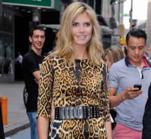 Heidi Klum VS Rose Byrne : la robe animale