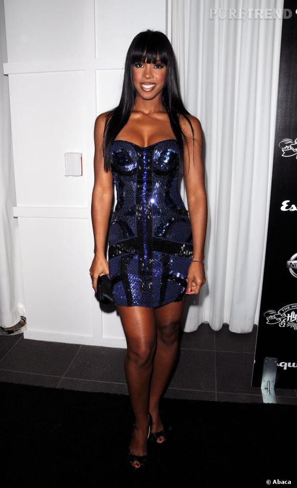 Kelly Rowland, scintillante pour les House of Hype Music Awards.