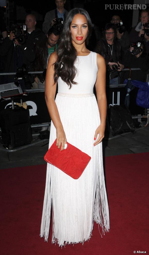 Leona Lewis à la soirée GQ Men Of The Year à Londres.