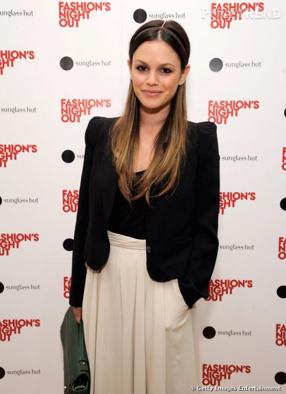 Rachel Bilson à la Fashion's Night Out de Los Angeles.