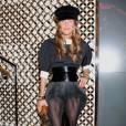 Anna Dello Russo en total look Vuitton Automne-Hiver 2011/2012.
