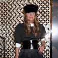 Anna Dello Russo à l'inauguration de la nouvelle boutique Louis Vuitton à Milan.